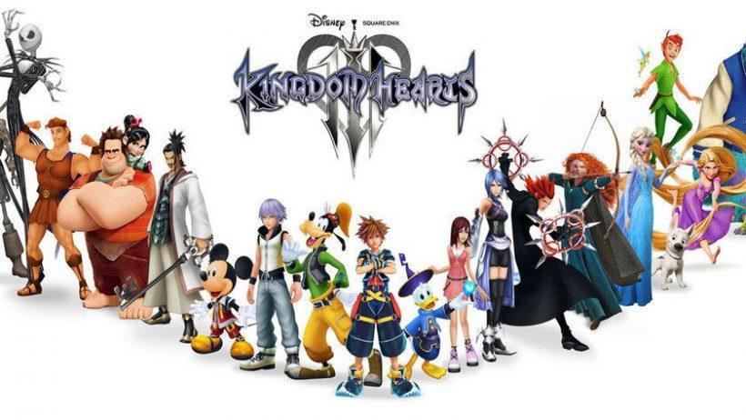 nuevo vídeo Kingdom Hearts III