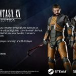 Final Fantasy XV Windows Edition permitirá utilizar la skin de Gordon Freeman