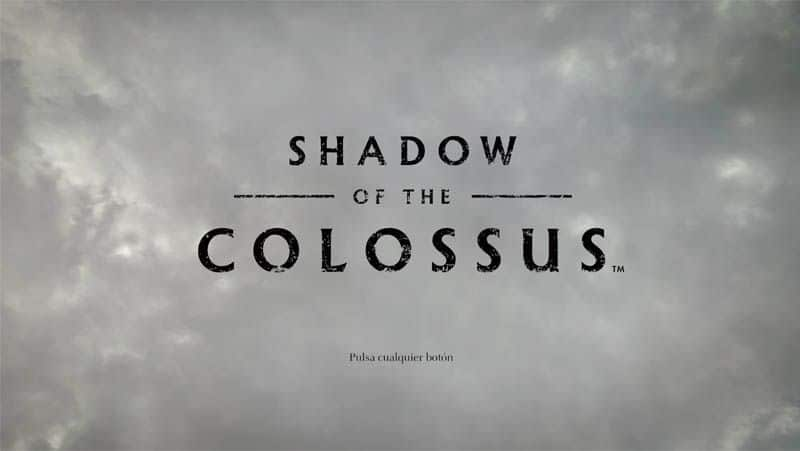 análisis shadow of the colossus