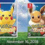 Pokemon Lets Go Pikachu y Lets Go Eevee anunciados